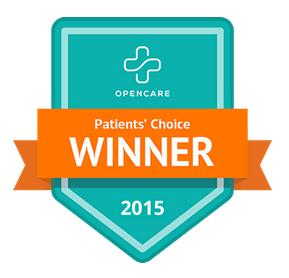 2015 Patient's Choice Winner